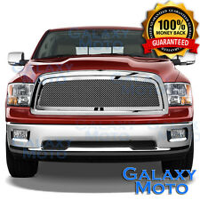 09-12 Dodge RAM Truck 1500 Front Hood Chrome Mesh Grille+Replacement Grill Shell
