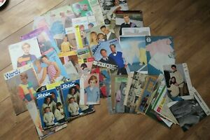 Vintage assorted knitting patterns too many to list - adults childrens toys 2kg