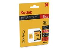 MicroSDHC 16GB KODAK Speicherkarte Micro SD Memory Card Karte CL10 UHS-I 85MB/s