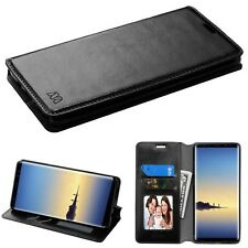 Black MyJacket Wallet ( with Tray) leather COVER CASE For Samsung Gala