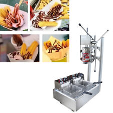 3l Manual Vertical Churrera Churros Machine Maker With 110v Frying Oven