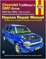 HAYNES REPAIR MANUAL 24072 CHEVROLET TRAILBLAZER & GMC ENVOY '02-'09