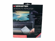 Monster IR Remote Repeater Universal IR Remote Extended Range 25 ft 4 Devices
