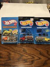 hot wheels peterbilt tank truck Set Of 3
