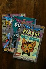 American Flagg #28 - #30. 3pt story by Howard Chaykin. 1986. First Comics VF+/NM