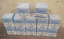 Lot Of 12 Vintage 1970's Dudley Baseballs Ps9L Syn-Tann New In Boxes