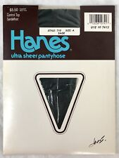 Hanes Ultra Sheer Control Top Pantyhose 710 Green Sage Size A NWT New