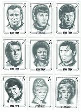 Star Trek 50th Anniversary 2017 Complete 50 Card ArtiFEX Emily Tester Set A1-A50