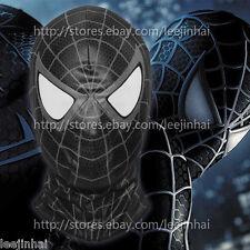 The Amazing Spider Man mask  Balaclava Cosplay  Spider Man 3 Venom black mask