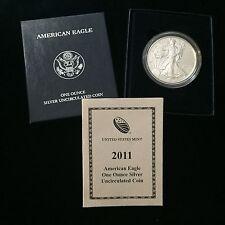 American Silver Eagle 2011 W Burnished UNC $1 COA