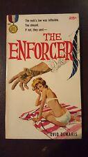 """Ovid Demaris, """"Enforcer,"""" 1960, Gold Medal 1007, VG+/NF, 1st"""