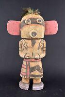 """Poupée / statue / doll """"kachina"""" Hopi-style Arizona Etats-Unis Amérique 45"""