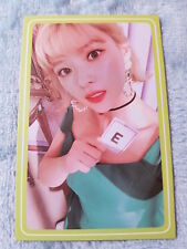 10)TWICE 5th Mini Album What Is Love? Jeongyeon Type-9 PhotoCard Official K-POP