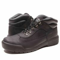 Timberland Men's Black Leather Hiker Field Boots 6531A
