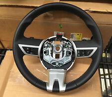 2010-2011 Chevrolet Camaro Leather Steering Wheel STONE Stiching GM OEM UPGRADE