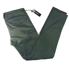 Diesel Slim Skinny Stretch Army Green Cargo Pants Mens 32x32 NWT $168