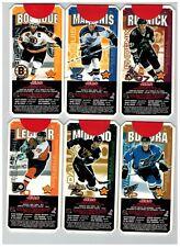 1999 JELLO NHL SUPER SKILLS HOCKEY 6 CARD SET 18/19 SALE