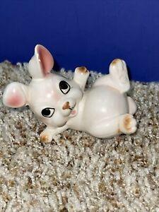 Vintage Norcrest Japan Bunny Rabbit Ceramic Figurine A348 Easter