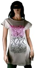 GENIAL Kate Moross PARA TOPSHOP Diseñador Camiseta Larga Vestido Túnica VIP T