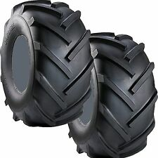 2) 16x6.50 16/6.50-8 Lawn Mower Go Kart Trencher Tires