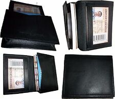 Lot of 2 Leather Business card / Credit Card ID card case fifty cards holder #15