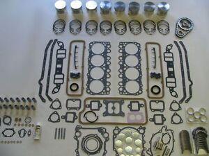 Basic Engine Rebuild Kit 54 55 Oldsmobile 324 V8 NEW 1954 1955