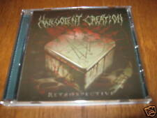 "MALEVOLENT CREATION ""Retrospective"" CD deicide gorguts"
