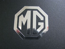 MG wheel centre decal stickers X 4 Chrome ZR ZF ZT TF BGT Roadster