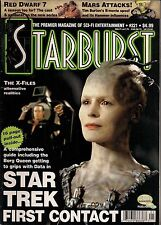 Starburst No.221 1997 STAR TREK FIRST CONTACT,MARS ATTACKS