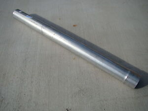 "5"" UNIVERSAL CAT / MUFFLER BYPASS TEST PIPE, 40"" - DIESEL EXHAUST, ALUMINIZED"