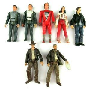 Mixed Lot of 7 Vintage Action Figures Star Trek Mork Others