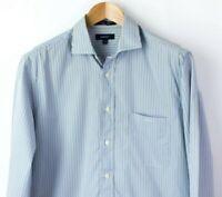 Gant Hombre Mercer Popelina Corte Normal Rayas Camisa Informal Talla M NZ229