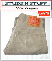 """VINTAGE LEVIS 505'S REGULAR FIT JEANS  W31"""" L32"""" APROX SIZE UK  10 /  12 (T113)"""