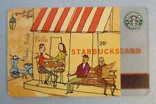 MEGA Rare Starbucks ** VESPA ** 2003 Version (6009) - Gift Card - Vintage, VHTF