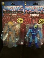 Master Of The Universe He-man And Skeletor Retro Play With Comic Book Included