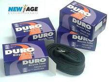FOUR [4] DURO  BICYCLE INNER TUBE 700x20/25C 33mm PRESTA VALVE  FIXIE ROAD BIKE