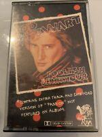 Rod Stewart - Foolish Behaviour - RV411 Cassette Tape  Black Shell Silver Text