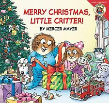 Merry Christmas, Little Critter by Mercer Mayer lift the flap paperback NEW