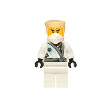 Zane Rebooted Scarred 70724 Robot White Ninja Ninjago Lego Minifigure Z72