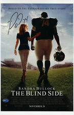 Michael Oher SIGNED 11x17 The Blind Side Movie Poster Ravens PSA/DNA AUTOGRAPHED