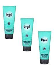 3x Fenjal Luxury Classic Skin Creme Cream Natural Oil Body Wash - 200 ml