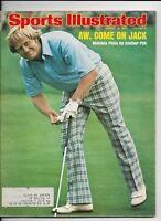JACK NICKLAUS ~ August 18 1975 Sports Illustrated ~ PGA Golf