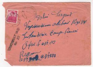 1942 Oct 9th. Censor Cover. Podu Iloaiei to Oficiul Postal Miltar No 113.