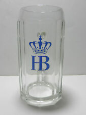 Vintage Hofbrau 1 Liter German Beer Mug Munich Germany Brewery