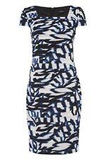 Square Neck Midi Casual Striped Dresses for Women