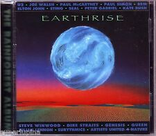 EARTHRISE CD New QUEEN/LENNON/PINK FLOYD/U2/McCARTNEY/STING/DIRE STRAITS/GENESIS