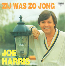 "JOE HARRIS – Zij Was Zo jong (1987 TELSTAR VINYL SINGLE 7"")"