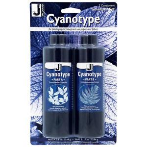 Jacquard Cyanotype Sensitizer Set - Chemie Kit für Blaudruck / Cyanotypie