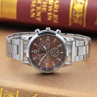 Men's Luxury Stainless Steel Watch Casual Analog Quartz Army Sport Wrist Watches