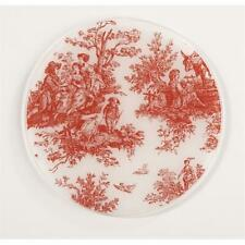 Andreas TR-154 Toile Red Silicone Trivet - Pack of 3